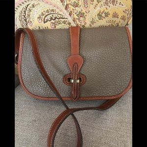 Tan Dooney & Burke crossbody bag